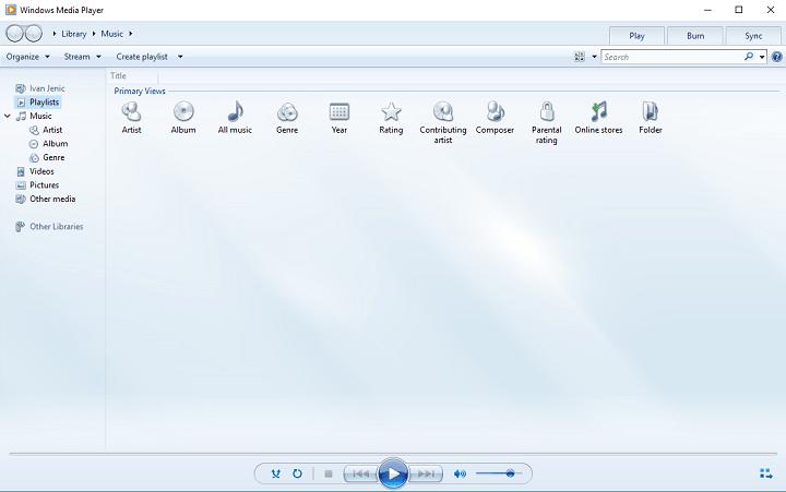 Исправлено: проигрыватель Windows Media в Windows 10 не воспроизводит файлы AVI.
