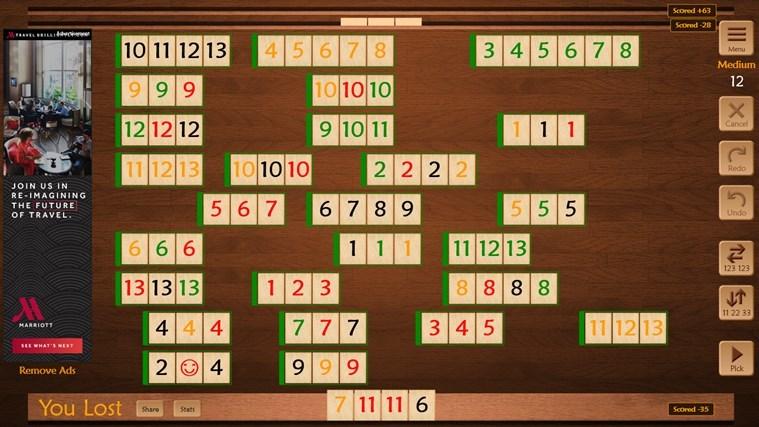 Бесплатная игра Раммикуба для Windows обновлена с улучшенным ИИ