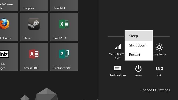 Как исправить спящий режим в Windows 10, 8, 8.1