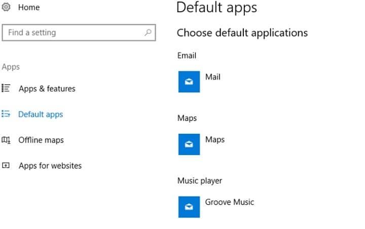 Значки приложений по умолчанию неверны после обновления Windows 10 Creators Update[FIX].